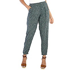 Alice & You - Green printed trousers