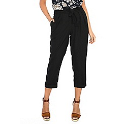 Alice & You - Black lightweight trousers