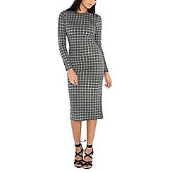 Alice & You - Grey bodycon knitted midi dress