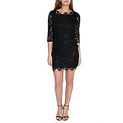 Alice & You - Black bodycon lace dress