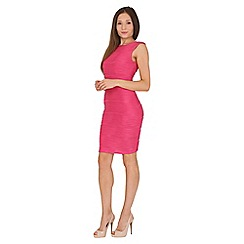 Jane Norman - Pink ripple texture dress