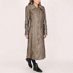 David Barry - Gold ladies generous fitting coat