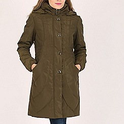 David Barry - Olive ladies padded coat