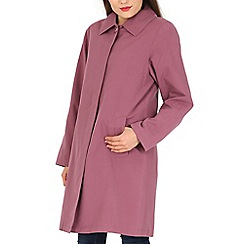 David Barry - Lilac ladies showerproof rain coat