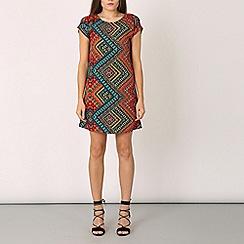 Izabel London - Multicoloured multi print dress