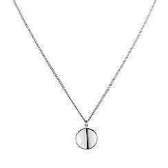 Dyrberg Kern - Silver atoma shiny silver necklace