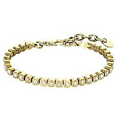 Dyrberg Kern - Gold cony tennis bracelet