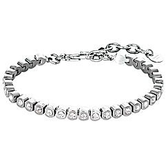 Dyrberg Kern - Silver cony tennis bracelet
