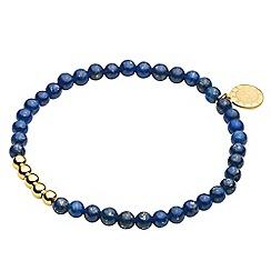 Dyrberg Kern - Blue zenith elastic bracelet