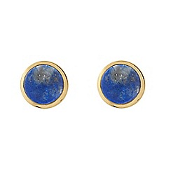 Dyrberg Kern - Blue clic earrings
