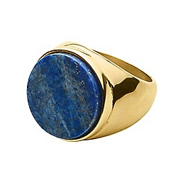 Dyrberg Kern - Gold castor cocktail ring
