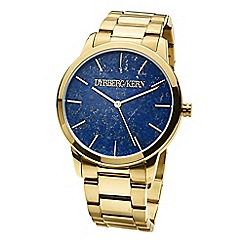 Dyrberg Kern - Gold gemstone dial watch