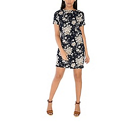 Alice & You - Navy short sleeve printed dress