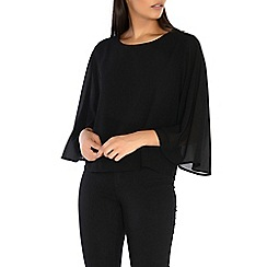 Alice & You - Black cape sleeves top