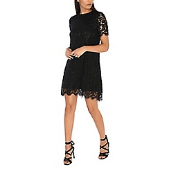 Alice & You - Black lace shift dress