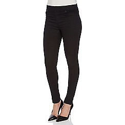 Roman Originals - Black plain jeggings