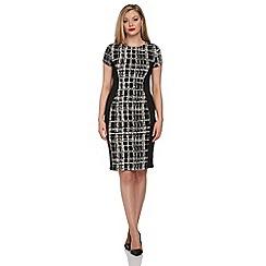 Roman Originals - Black panelled dress