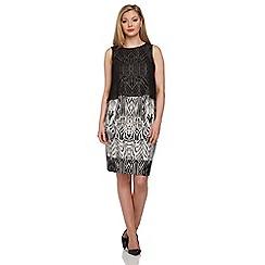 Roman Originals - Beige layered dress