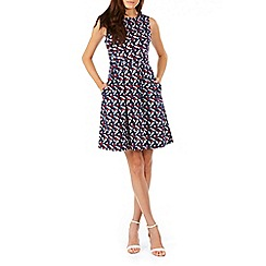Sugarhill Boutique - Navy hatty fruit floral dress