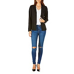Sugarhill Boutique - Black classic spring blazer