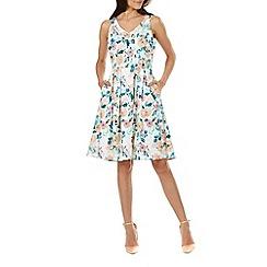 Sugarhill Boutique - Peach isadora pretty bloom dress