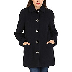 David Barry - Navy large button jacket