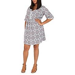 Samya - Multicoloured  printed dress