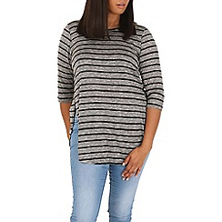 Samya - Black striped jumper