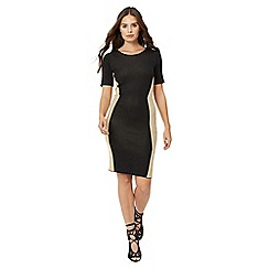 Jane Norman - Black illusion jumper dress
