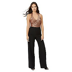 Jane Norman - Black sequin bodice jumpsuit
