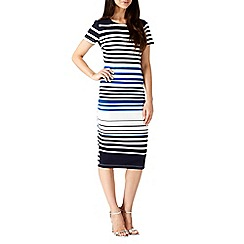 Sugarhill Boutique - Blue electa stripe dress