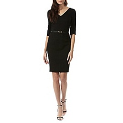 Sugarhill Boutique - Black bonita textured dress