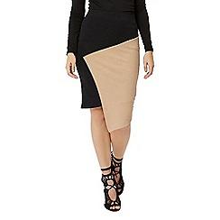 Jane Norman - Black assymmetric skirt