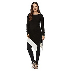 Jane Norman - Black assymetric jumper dress