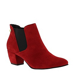 Marta Jonsson - Red slip on ankle boot