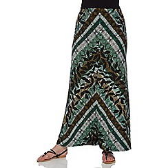 Roman Originals - Green maxi skirt