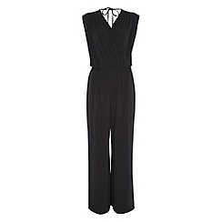 Roman Originals - Black wrap jumpsuit
