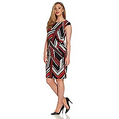 Roman Originals - Red jersey printed dress