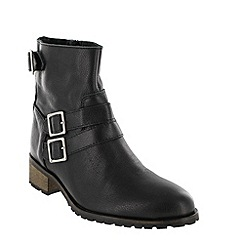 Marta Jonsson - Black ankle boot with zip