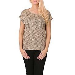 Izabel London - Light brown t-shirt style top