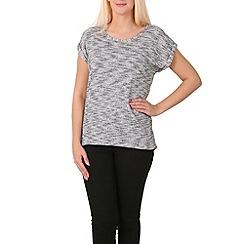 Izabel London - Black t-shirt style top