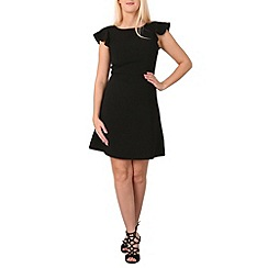 Izabel London - Black round neck  dress