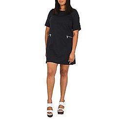 Samya - Navy t-shirt  dress