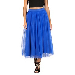 Jolie Moi - Royal tulle midi prom skirt