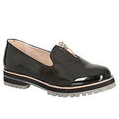 Keddo - Black chunky zip shoe