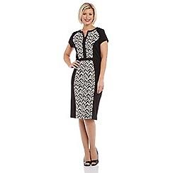 Roman Originals - Black contrast dress
