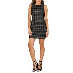 Izabel London - Black contrast pocket shift dress
