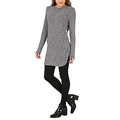 Izabel London - Black long sleeve jumper dress