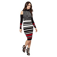 Jane Norman - Multi rib jumper dress