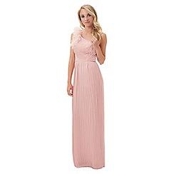 Jane Norman - Pink one shoulder maxi dress